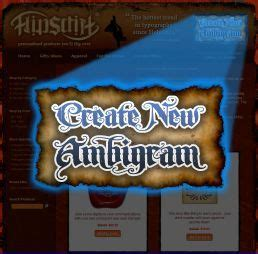 tattoos upside down and rightside up ambigram generator combines two words names phrases into