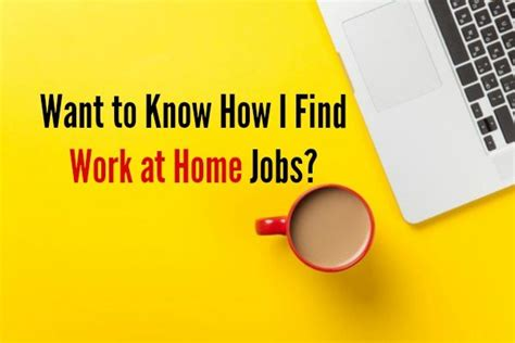 how to find work from home step by step