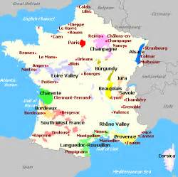France Wine Regions Map by French Wine Map Wine Region Map Page Content Pictures To