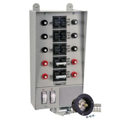 reliance controls 30 10 circuit transfer switch 30310a