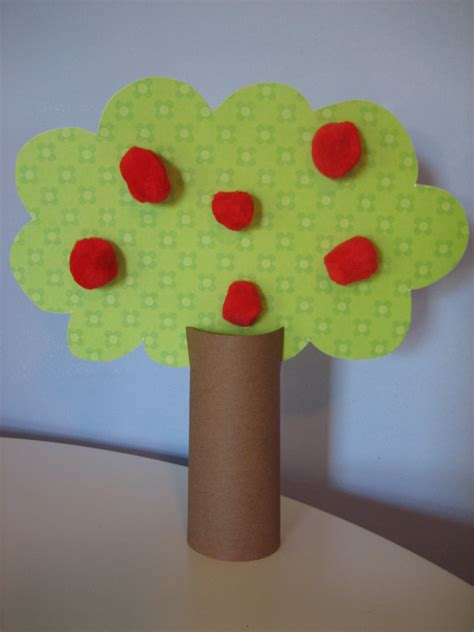 apple tree preschool craft an apple tree happy home fairy