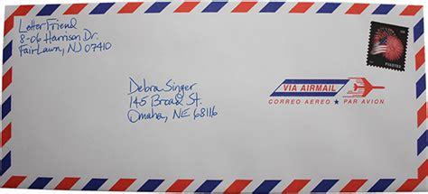 handwritten envelopes all addressed by letter friend
