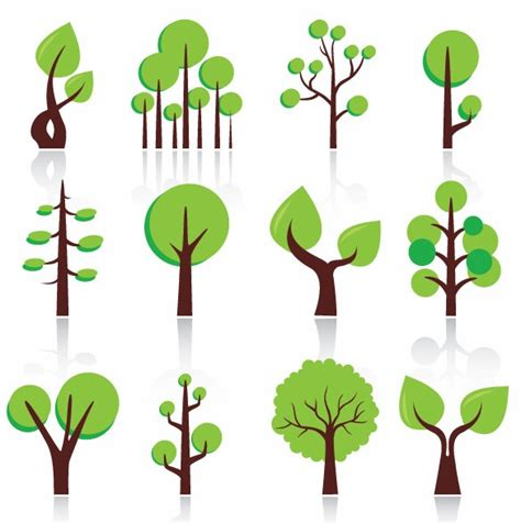 free vector pattern library graphic tree images free download clip art free clip