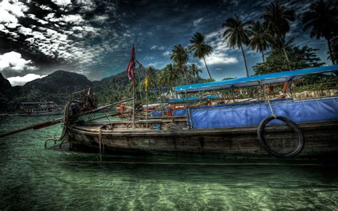 thai boat house 30 awesome hand drawn wallpapers designs