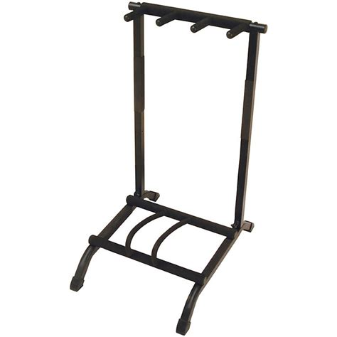 Multi Guitar Wall Rack by On Stage Stands 3 Space Foldable Multi Guitar Rack