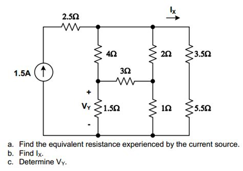 how to find what resistor you need a find the equivalent resistance experienced by chegg