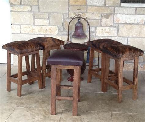 brindle cowhide bar stool ken cook maker