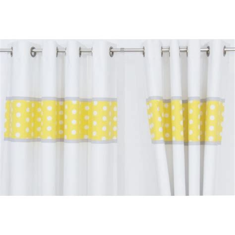 yellow and grey nursery curtains grey yellow white nursery curtains