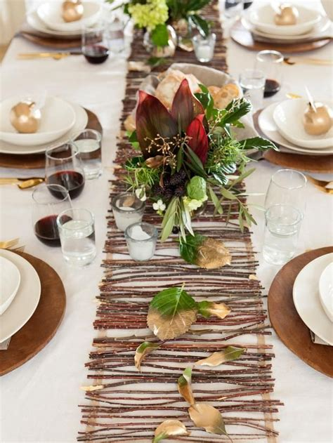 modern organic thanksgiving table setting tips and recipe