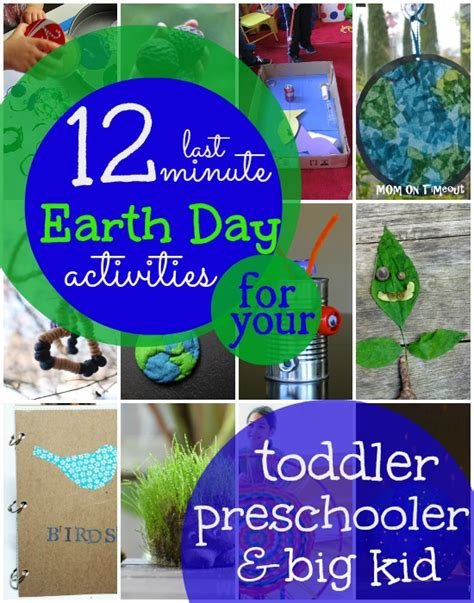last minute earth day activities for of all ages