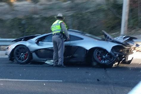 mclaren p1 crash update mclaren p1 owner crashed car less than 24 hours