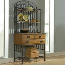 Bakers Rack Home Styles Oak Hill Baker S Rack In Oak Finish