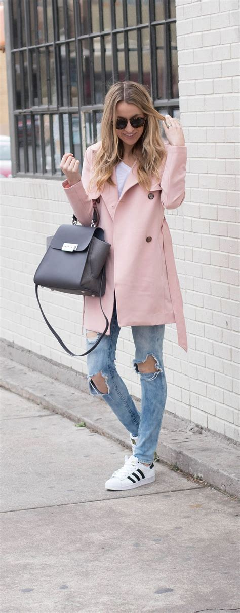 Perfectly Pink Coat For Valentines Day best 25 pink trench coat ideas on pink coats
