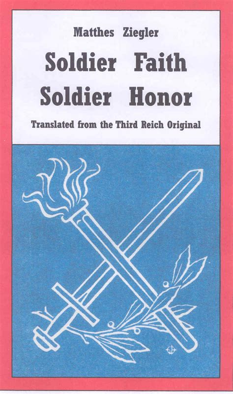 soldiers of honor books national socialist conservative book store nsm88