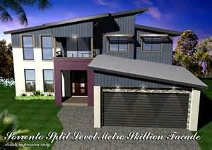 Sorrento Floor Plan sorrento mk5 split level metroskillion facade home design
