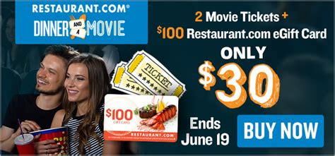 Max Restaurant Group Gift Card - date night two movie tickets 100 restaurant com gift card only 30 frugal finds