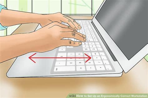ergonomically correct desk how to set up an ergonomically correct workstation 15 steps