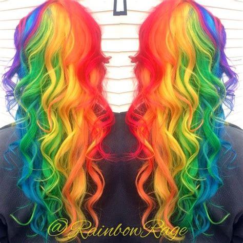 17 best ideas about rainbow hair colors on pinterest fun