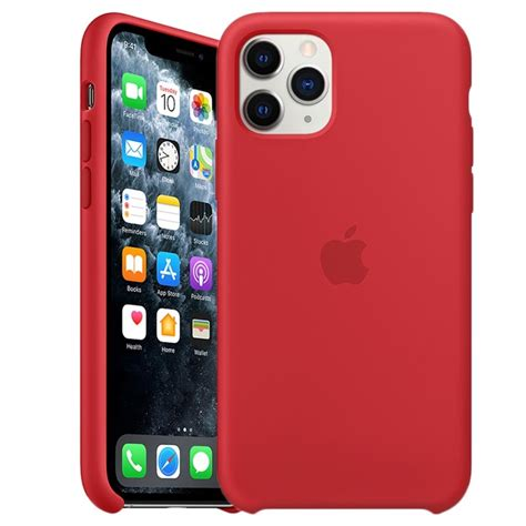 iphone  pro apple silicone case mwyhzma red