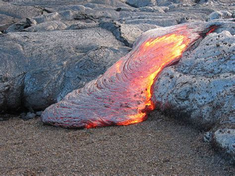 How Are Lava Ls Made wordlesstech kilauea lava