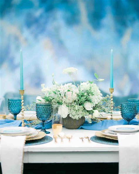 27 Cool Blue Wedding Ideas You'll Love   Martha Stewart