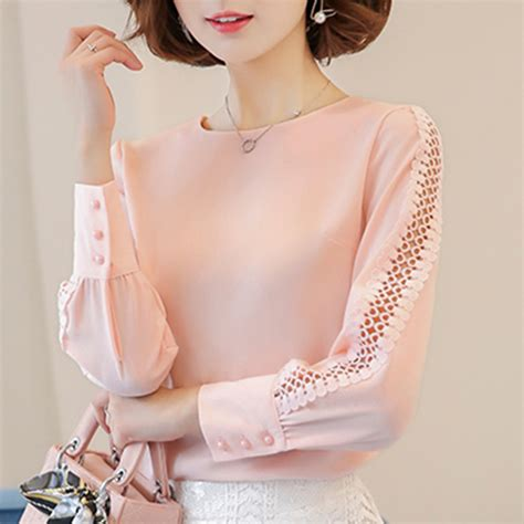 Blouse Chiffon popular office blouses buy cheap office blouses