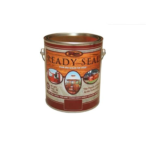 outdoor furniture stain and sealer ready seal 1 gal cedar exterior wood stain and sealer 112 the home depot