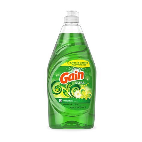 dish detergent gain original