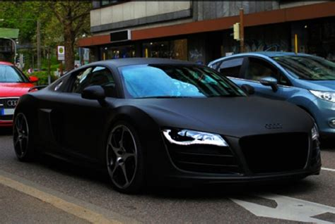 Matte Black Audi R8 With My Vegas Or Lottery Winnings