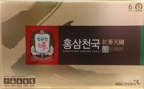 Korean Ginseng Tonic korean ginseng harmony tonic by kgc