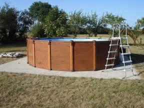 pr 233 paration de sol pour piscine hors sol forum jardin