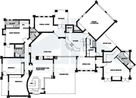Modern Four Bedroom House Plans House Plans And Design Modern House Plans 4 Bedroom