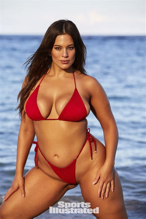 ashley graham in sports illustrated swimsuit 2018 issue hawtcelebs