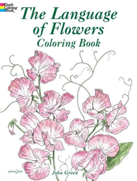 a pattern language barnes and noble the language of flowers coloring book by john green