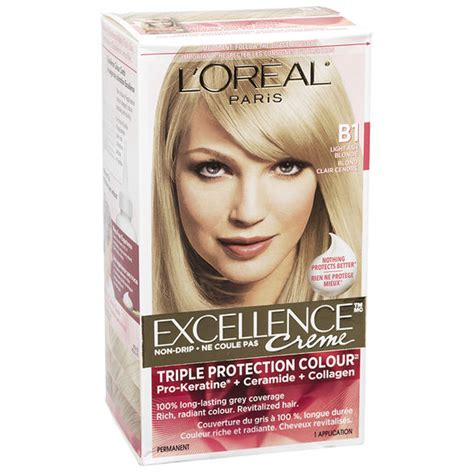 loreal excellence hair color ash l oreal excellence creme b1 light ash drugs