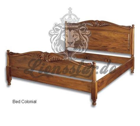 bett kolonialstil betten 187 purer luxus lionsstar gmbh