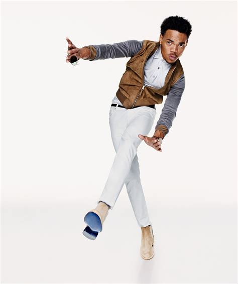 Rebooted: Chance The Rapper In Our Favorite Suede Boots Photos   GQ