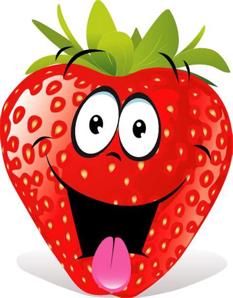 strawberry cartoon cartoon strawberry clip art at clker com vector clip art