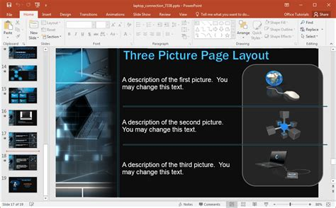 ppt templates for network security animated network security powerpoint template