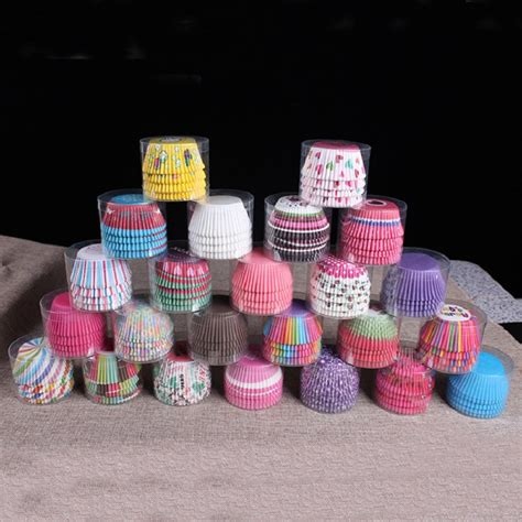 100 5 Pcs Rainbow 100 pcs rainbow cupcake paper liners muffin cases cup cake