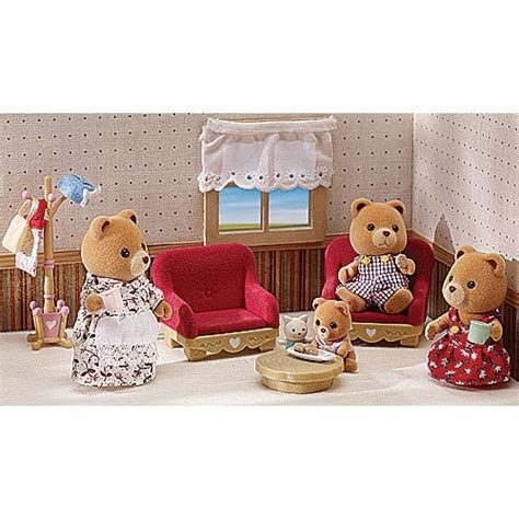calico critters deluxe living room set calicou critters blue living room set home and harmony