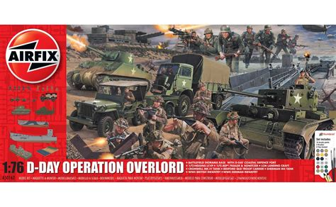 airfix aa  day operation overlord set