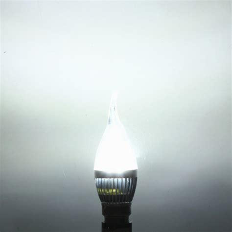 Dimmable Chandelier Buy Dimmable B22 4 5w White Warm White Led Chandelier Candle Light Bulb Bazaargadgets