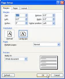 Create a tri fold brochure in microsoft word