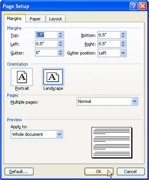 create a tri fold brochure in microsoft word