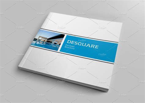 template brochure square square portfolio brochure brochure templates creative