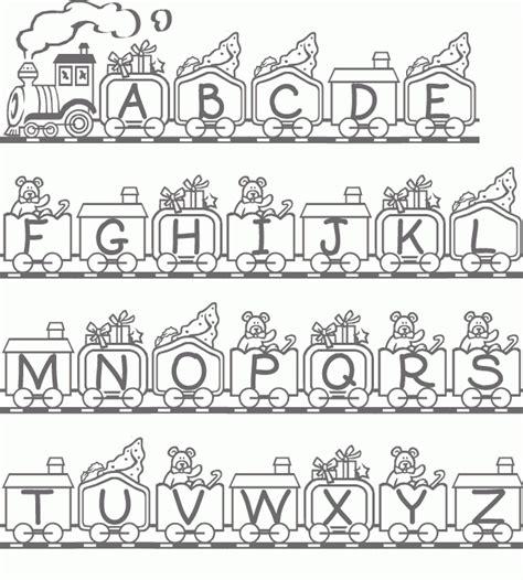 alfabeto para imprimir e pintar dibujos de letras abecedario para colorear e imprimir