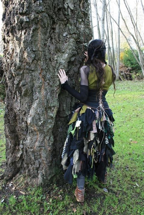 halloween costume huldra  full costume dressmaking