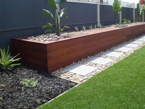 garden bed retaining wall a to z handyman services doreen whittlesea mernda creek garden landscaping