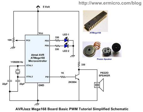 100 circuit diagram to generate pwm waveform zero